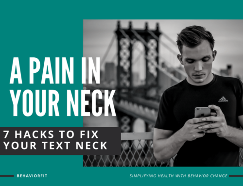 A Pain In Your Neck: 7 Hacks to Fix Your Text Neck!