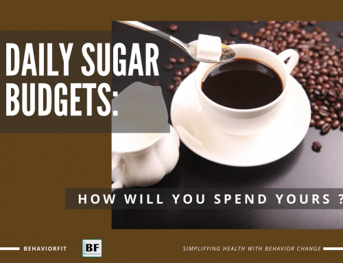 Daily Sugar Budgets: How Will You Spend Yours?