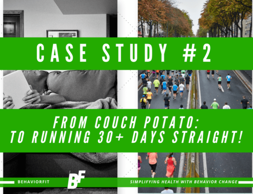 Case Study #2: From Couch Potato To Running 38 Days Straight!