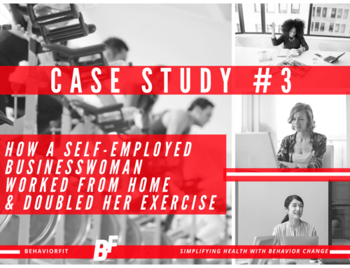 Case Study #3: How A Self-Employed Business Woman Worked From Home & Doubled Her Exercise.