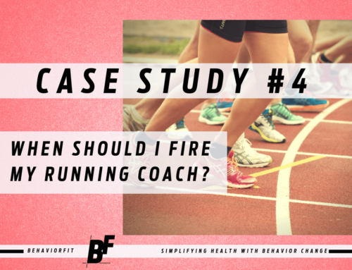 Case Study 4: When Should I Fire My Running Coach?